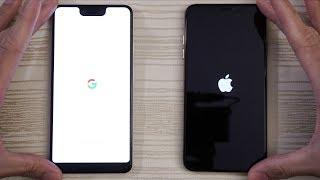 Google Pixel 3 XL vs iPhone XS Max - Speed Test!