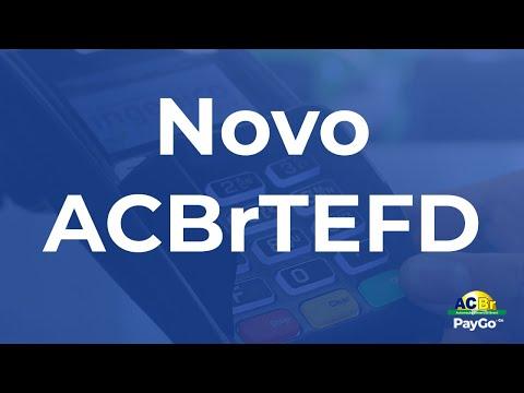 Como usar TEF Dedicado PayGoWeb com ACBrTEFD