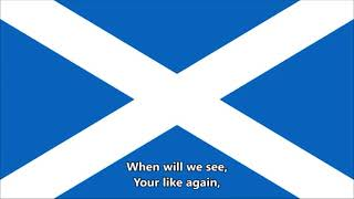 Flower of Scotland - National Anthem of Scotland (English lyrics) Unofficial