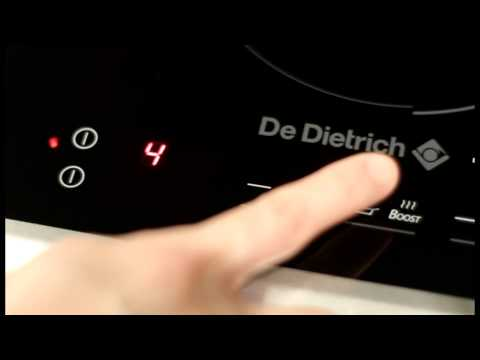 De Dietrich Induction Hob Video Guide