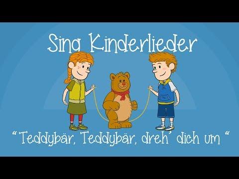 Teddybär, Teddybär, dreh' Dich um - Kinderlieder zum Mitsingen   Sing Kinderlieder