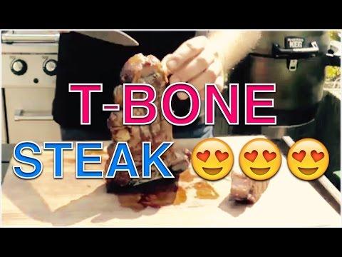 T-BONE STEAKS GRILLEN  ANLEITUNG --- Klaus grillt