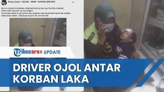 Viral Video Driver Ojol di Bekasi Antar Ibu dan Anak Korban Tabrak Lari ke Rumah Sakit, Ini Kisahnya