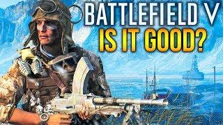 BATTLEFIELD V Gameplay IS IT GOOD? BF5 Closed Alpha Feedback