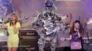 В Японии дебютировала поп-группа роботов