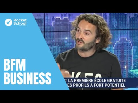 Video Cyril Pierre de Geyer, fondateur de Rocket, chez BFM Business