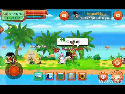 Ngọc rồng online: phá super broly phiên bản sửu nhi