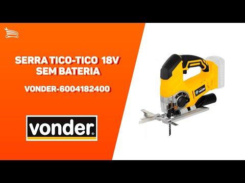 Serra Tico-Tico ITTV1824 18V sem Bateria - Video