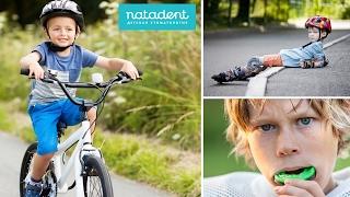 Травмы зубов у детей 7-9 лет. Что делать? Натадент
