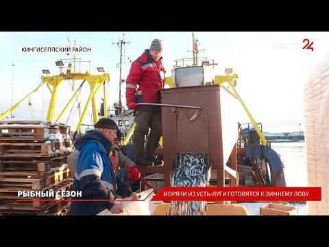 Рыбаки из Усть-Луги готовятся к зимнему лову