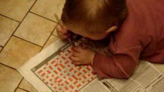 Дети и их воспитание, Разгадываем кроссворд хД