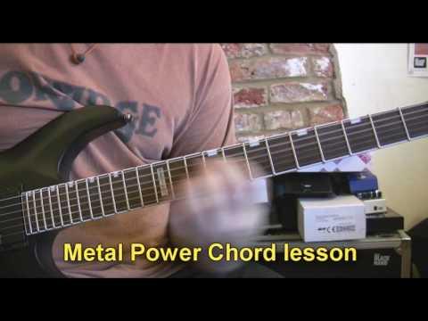 Doom & Death Metal Power Chords - Guitar Lesson with ESP Guitars Artist Rob Chapman