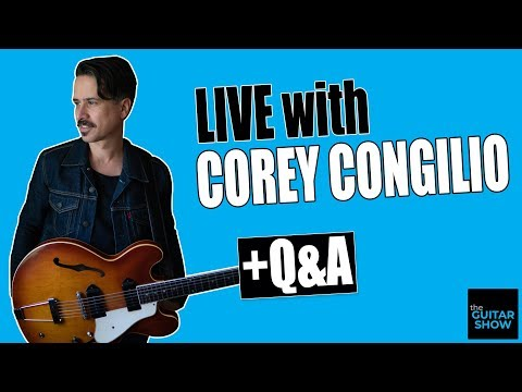 LIVE Q&A with Session/Live Guitarist, Corey Congilio