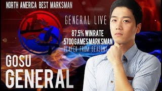 North America Best Marksman Player - General Live (Mobile legends)
