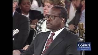October 11, 1991: Clarence Thomas Full Opening Statement (C-SPAN)