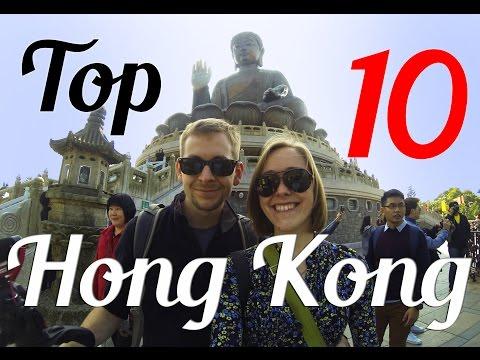 Top 10 Things to do in Hong Kong - HD