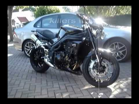 Arrow Exhaust Sound Comparison Triumph Speed Triple 1050