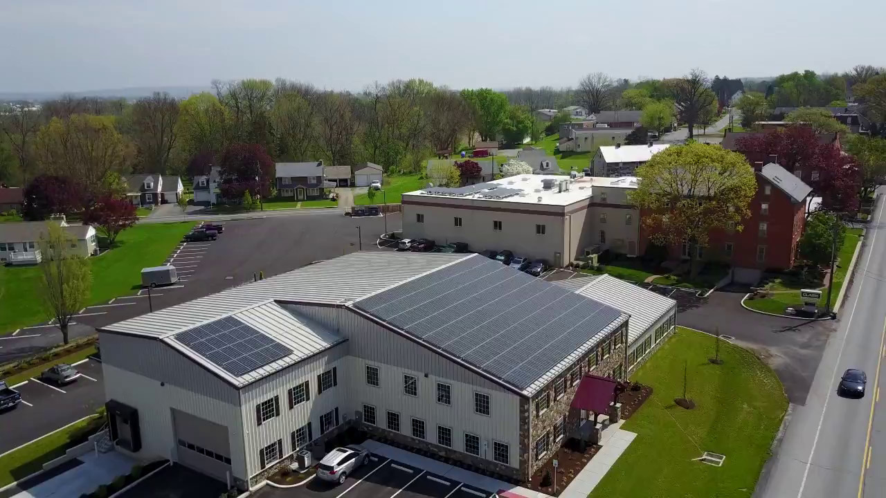 Paradise Energy Solutions Corporate Office - Drone Footage