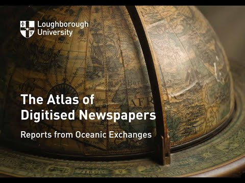 The Structure of the Atlas of Digitised Newspapers and Metadata YouTube Video