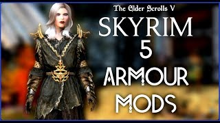 Skyrim Special Edition: ▶️5 PLAYSTATION 4 ARMOUR MODS◀️ #1