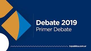 Primer Debate Presidencial 2019