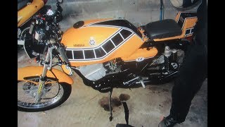 pt 78 FZR RESTORATION,HOW TO INSTALL DECALS THE EASY WAY.