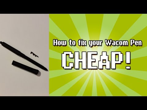 How to Fix Your Broken Wacom Pen Cheap