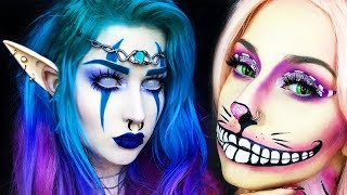 TOP 15 DIY Weird Halloween Makeup IDEAS & TUTORIALS 2018