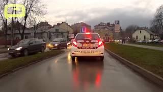 preview picture of video 'Egzamin na prawo jazdy - Trasa egzaminacyjna - Kielce'