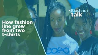 We started with only two t-shirts but ended up making millions | Biashara talk