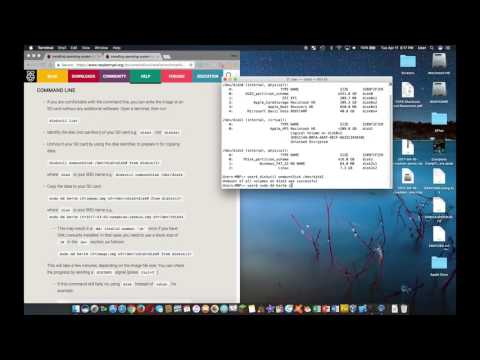 Download Tutorials Raspberry Pi Sd Card Setup Using A Mac