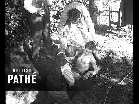 Buried Alive Stunt Goes Wrong (1949) (видео)