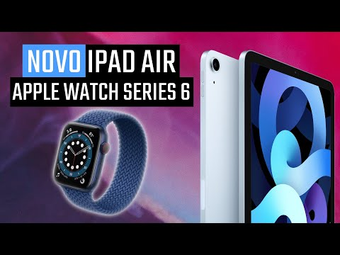 NOVOS LANÇAMENTOS DA APPLE! Apple Watch Series 6, iPad Air 4, iOS 14 e tudo que rolou no evento!
