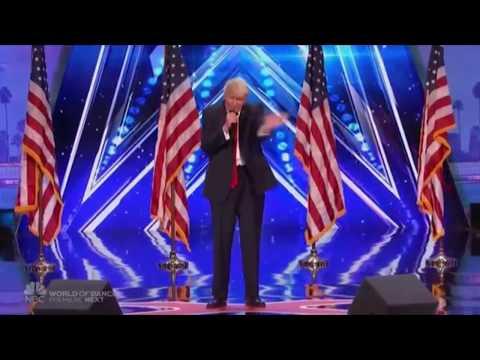 Donald Trump in America's Got Talent 2017 (The singing trump)- MTW