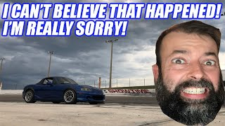I Break a Customers Car Showing Him How To Do A Burnout! SUPER CLEAN UPDATE! Miata Gets Track Time!