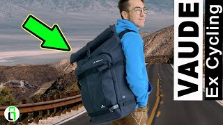 How To Use: Vaude ExCycling Pack as Carry Back (deutsch)
