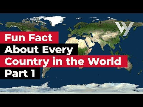 Learn One Fun Fact About Every Country Around the World
