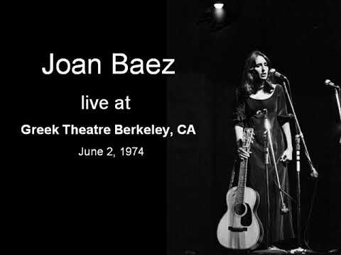 Joan Baez at Greek Theatre, Berkeley - 02.06.1974