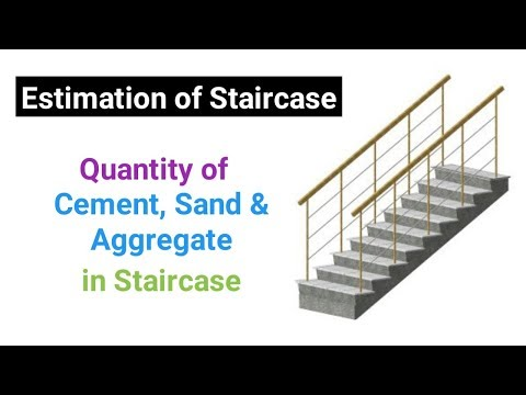 Download How To Calculate Volume Of Concrete In Staircase Engineeri