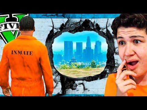 Esto Pasa si ESCAPAS de la PRISIÓN en GTA 5... Grand Theft Auto V - GTA V Mods