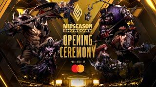 LCS Mid-Season Showdown : la cérémonie d'ouverture
