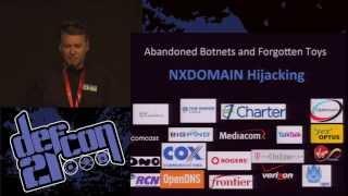 DEFCON 21 - DNS May Be Hazardous to Your Health - Robert Stucke