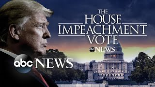 Donald Trump becomes 3rd president in US history to be impeached