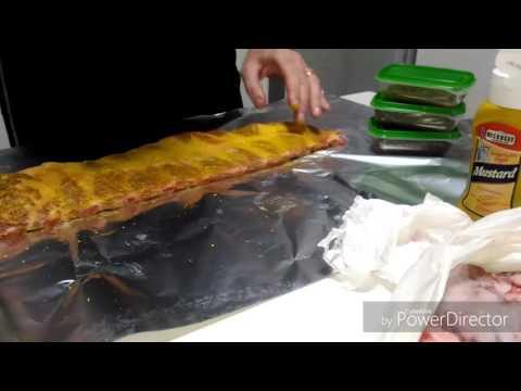 BBQ Honey Ribs (costoline laccate al miele, lime, zenzero e salsa di soia) www.tipidagriglia.com