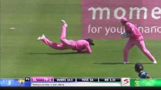 South Africa Vs Sri Lanka - 3rd ODI   SL Innings Highlights