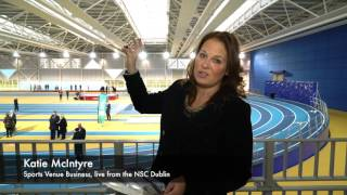 Katie McIntyre reports from the official opening of the Sport Ireland National Indoor Arena