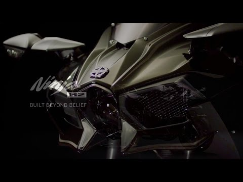 2016 Kawasaki Ninja H2 official video