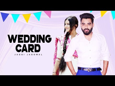 Wedding Card To Facebook  Jaggi Jagowal