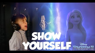 Idina Menzel - SHOW YOURSELF [FROZEN 2] - Epic 6 year old boy cover