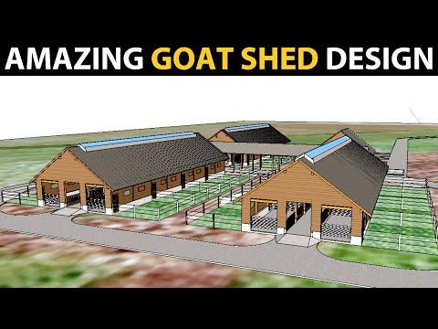 , title : 'GOAT SHED DESIGN | Goat Farm Plans  & Designs | Goat Housing ideas